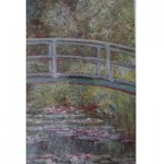 Piatnik-5346 Jigsaw Puzzle - 1000 Pieces - Monet : The Japanese Bridge
