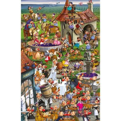 Piatnik-5352 Jigsaw Puzzle - 1000 Pieces - Ruyer : Wine