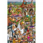 Piatnik-5352 Jigsaw Puzzle - 1000 Pieces - Ruyer : Wine