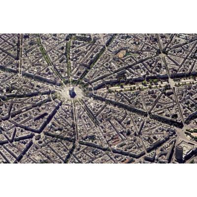 Puzzle Piatnik-5376 Skyview Collection: Paris, view of the sky