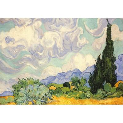 Puzzle Piatnik-5391 Vincent van Gogh: The Yellow Wheats
