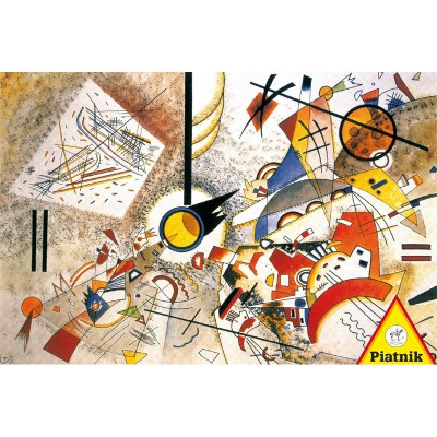 Puzzle Piatnik-5396 Kandinsky Wassily : Bustling Aquarelle