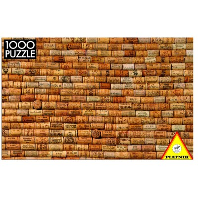 Piatnik-5436 Jigsaw Puzzle - 1000 Pieces - Corks Collection