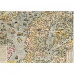 Puzzle  Piatnik-5456 Maritime Map