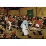 Puzzle  Piatnik-5483 Brueghel Pieter - Peasant Wedding