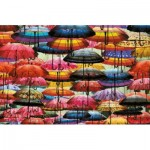 Puzzle  Piatnik-5487 Colorful Umbrellas