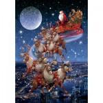 Puzzle  Piatnik-5497 Santa's Flying Sleigh