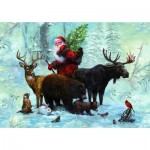 Puzzle  Piatnik-5515 Santa's Team