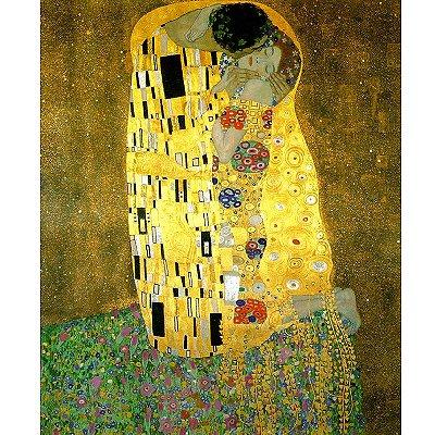Piatnik-5575 Jigsaw Puzzle - 1000 Pieces - Metallic - Klimt : The Kiss