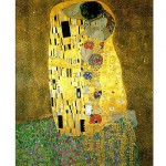 Piatnik-5575 Jigsaw Puzzle - 1000 Pieces - Metallic - Klimt : The Kiss