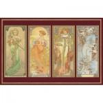 Piatnik-5576 Jigsaw Puzzle - 1000 Pieces - Klimt : The Virgin