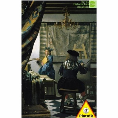 Piatnik-5640 Jigsaw Puzzle - 1000 Pieces - Vermeer : The Painter and his Model