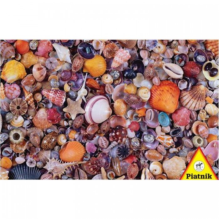 Jigsaw Puzzle - 1000 Pieces - Seashells