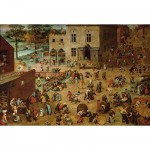 Piatnik-5677 Jigsaw Puzzle - 1000 Pieces - Brueghel : Children's Games