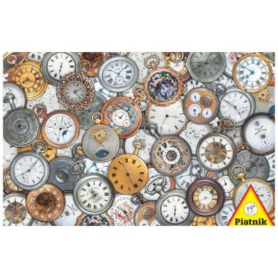 Piatnik-5680 Jigsaw Puzzle - 1000 Pieces - Pocket Watches