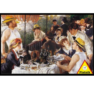 Piatnik-5681 Jigsaw Puzzle - 1000 Pieces - Renoir : Luncheon of the Boating Party