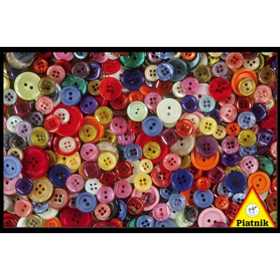 Piatnik-5687 Jigsaw Puzzle - 1000 Pieces - Buttons