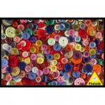 Piatnik-5687 Jigsaw Puzzle - 1000 Pieces - Buttons