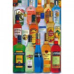 Piatnik-5689 Jigsaw Puzzle - 1000 Pieces - Alcohols from Over the World