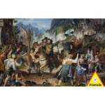 Piatnik-5695 Jigsaw Puzzle - 1000 Pieces - Andreas Hofer at War in Tyrol