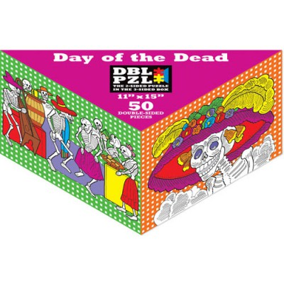 Pigment-and-Hue-DBLDOD-00802 Double Sided Puzzle -Day of the death