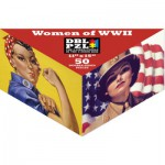 Pigment-and-Hue-DBLROSIE-00901 Double Sided Puzzle -Women of the Second World War
