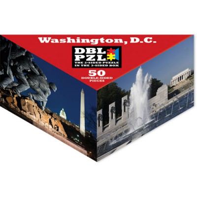 Pigment-and-Hue-DBLWDC-00918 Double Sided Puzzle - Washington D.C.