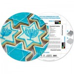 Pigment-and-Hue-RCHK-41204 Already assembled round Puzzle - Cookies Chanukah