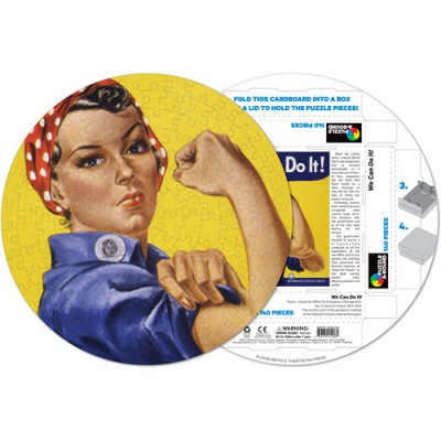 Pigment-and-Hue-RROSIE-41208 Already assembled round Puzzle - We can do it !