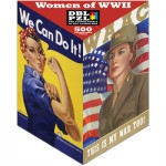 Pigment-and-Hue-XROSIE-01203 Double Sided Puzzle -Women of the Second World War