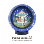 3D Puzzle Clock - Young Heart