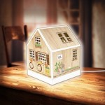3D Puzzle - House Lantern - Little Wooden Cabin