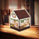 3D Puzzle - House Lantern - Lovely Cafe Shop