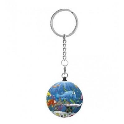 Pintoo-A2803 Keychain 3D Puzzle - Aquarium