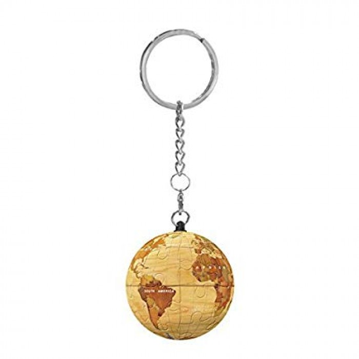 Keychain 3D Puzzle - Globe