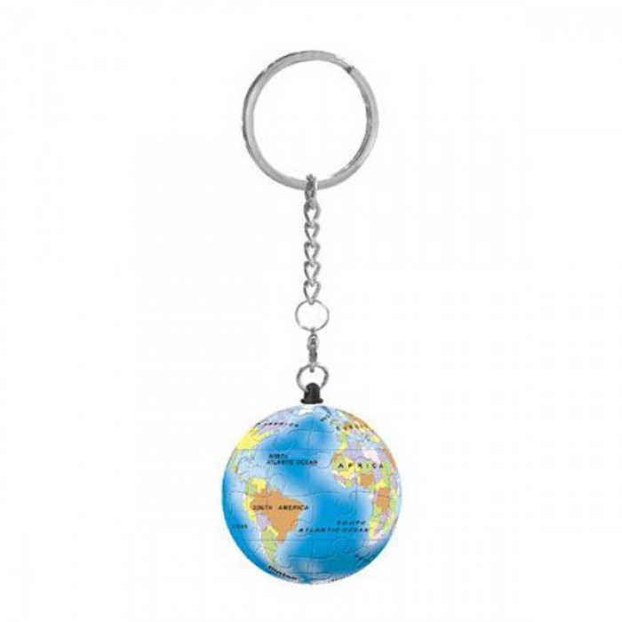 Keychain 3D Puzzle - Globe