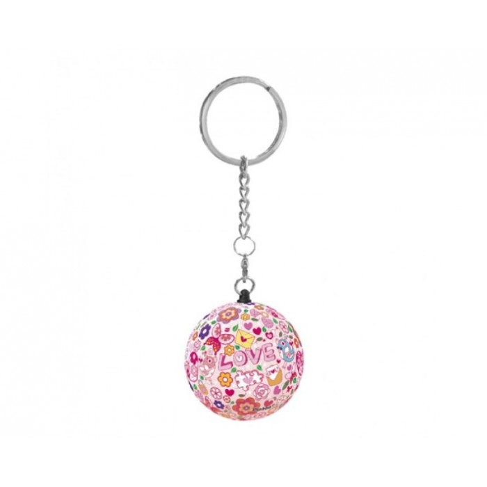 Keychain 3D Puzzle - Love