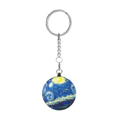 Pintoo-A3081 Keychain 3D Puzzle - Van Gogh