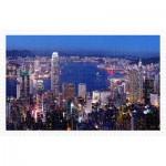 Puzzle   Aerial view of Hong Kong Victoria Harbor at night