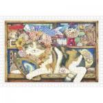 Puzzle   Cotton Lion - Cat Artist