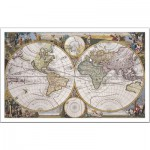 Pintoo-H1049 Plastic Puzzle - Ancient nautical chart