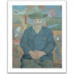 Pintoo-H1075 Plastic Puzzle-Vincent Van Gogh: The father Tanguy
