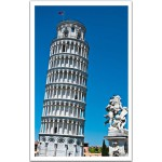 Pintoo-H1265 Plastic Puzzle-Italy, Tower of Pisa