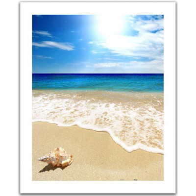Pintoo-H1335 Plastic Puzzle - Seashell on the beach