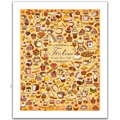 Pintoo-H1471 Plastic Puzzle- The tea time