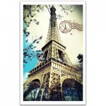 Pintoo-H1485 Plastic Puzzle - France, Paris: The Eiffel Tower