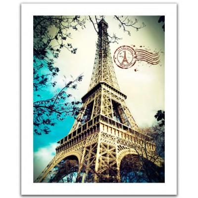 Pintoo-H1486 Plastic Puzzle - France, Paris: The Eiffel Tower