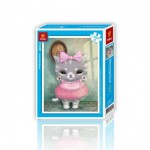 Pintoo-H1499 Plastic Puzzle - Cute Little Mumu
