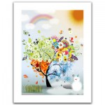 Pintoo-H1531 Plastic Puzzle-The Tree of Hope