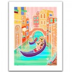 Pintoo-H1537 Plastic Puzzle - Romantic Vacations - Venice